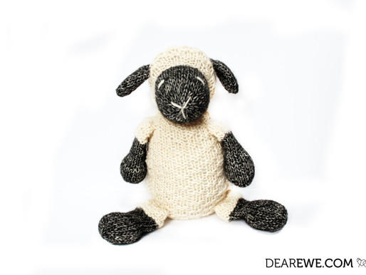 New Pattern Release | Knitted Little Ewe