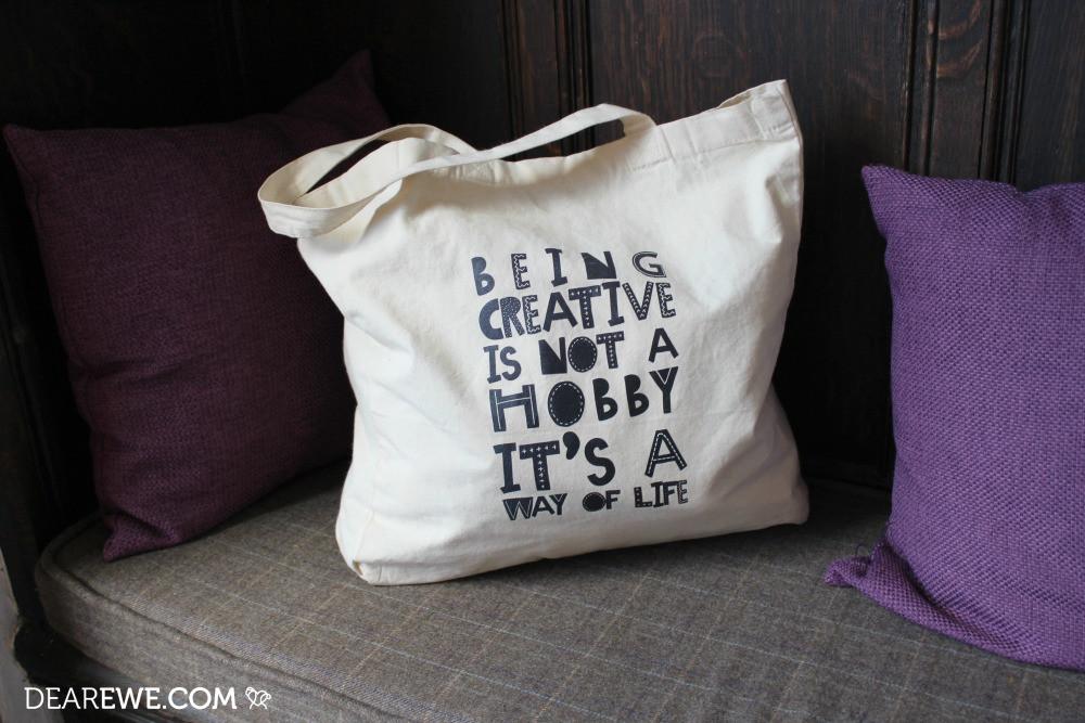 Dear Ewe Being Creative Tote Bag