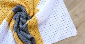 Free Crochet Pattern | Don't Box Me In Blanket