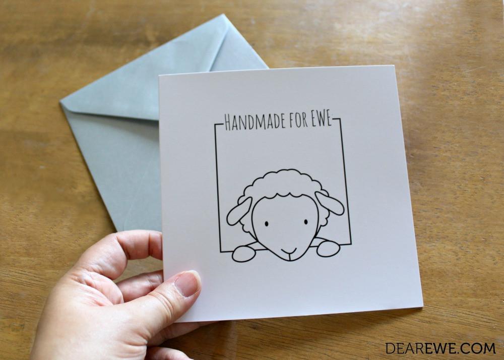 Dear Ewe Crafty Greetings Cards