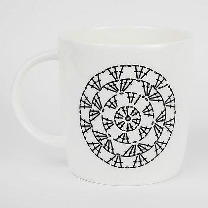 Crochet Circle Chart Mug