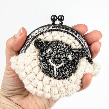 Purse for Ewe Crochet Pattern US Version