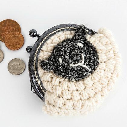 Purse for Ewe Crochet Pattern UK Version