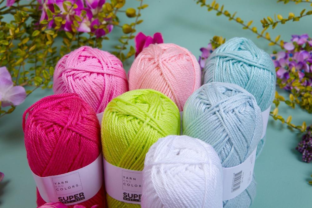 Learn to Crochet box - Yarn