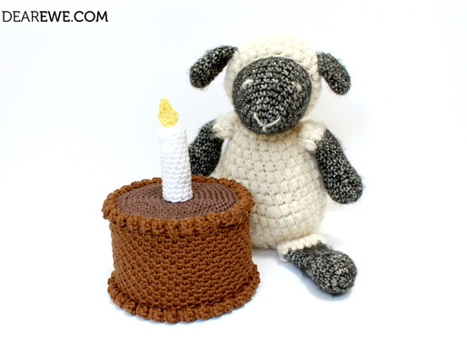 Free Crochet Pattern | Cake for Ewe