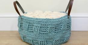New Crochet Pattern Release   Fat Bottomed Rustic Basket