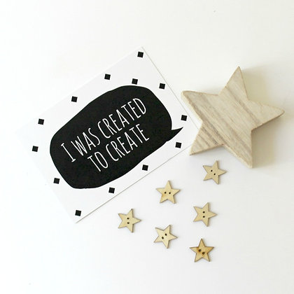 Social Media prop cards for makers and crafters