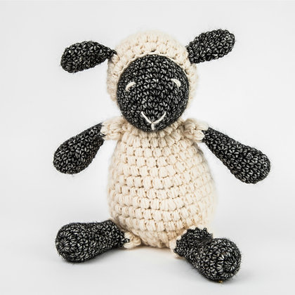 Crochet Pattern Sheep Little Ewe Amigurumi US Version