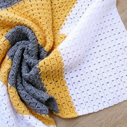 Crochet Pattern | Don't Block Me In Blanket US Version