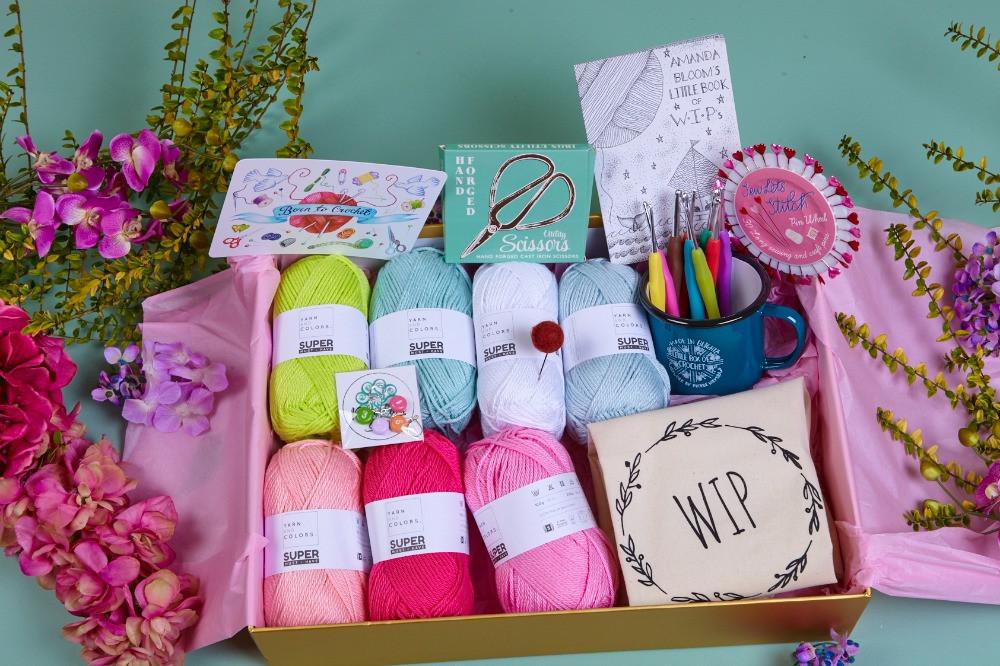 Learn to Crochet box by Little Box of Crochet