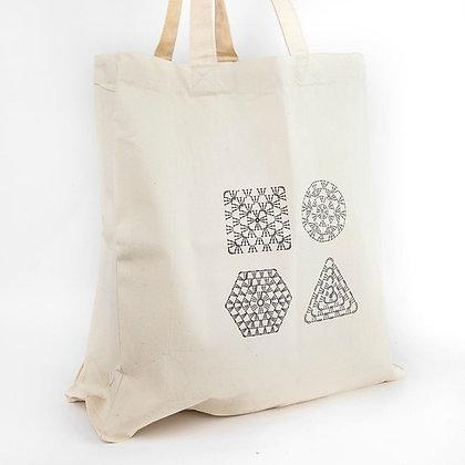 Crochet Chart tote bag