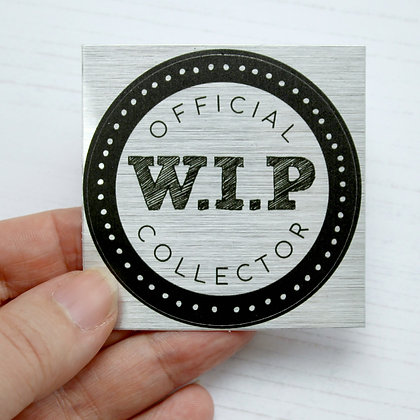 Stationery | Official WIP Collector Single Sticker