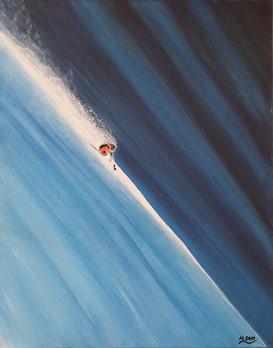 Ski Painting: The Line