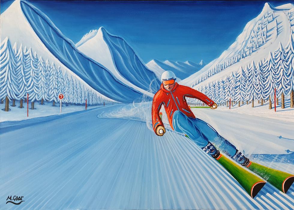 Painting: Corduroy Dreams