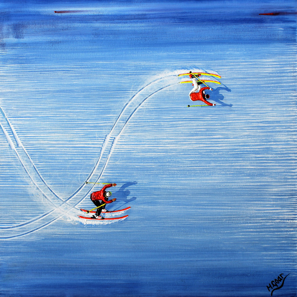 Ski Painting: Transitions