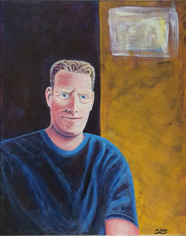 Painting: Self Portrait
