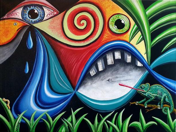 Painting: Natural Imbalance