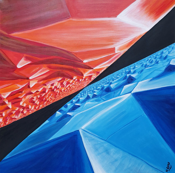 Painting: Parallel Worlds