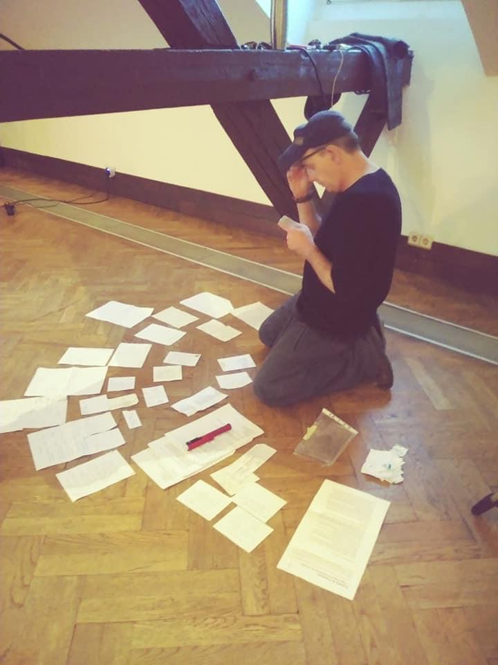 David studierend Graz
