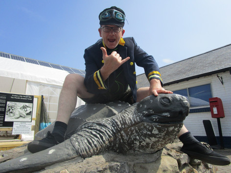 Publicity Shot at Anglesey Sea Zoo