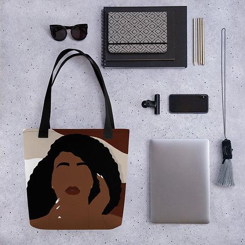 Creative Face Tote bag