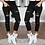 Thumbnail: Fashion Streetwear Women Leggings Ladies Stretch Faded Ripped Slim Fit Skinny De