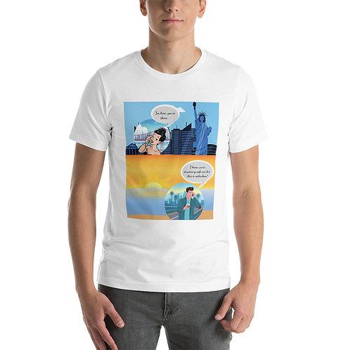 Long Distance Love Short-Sleeve Unisex T-Shirt
