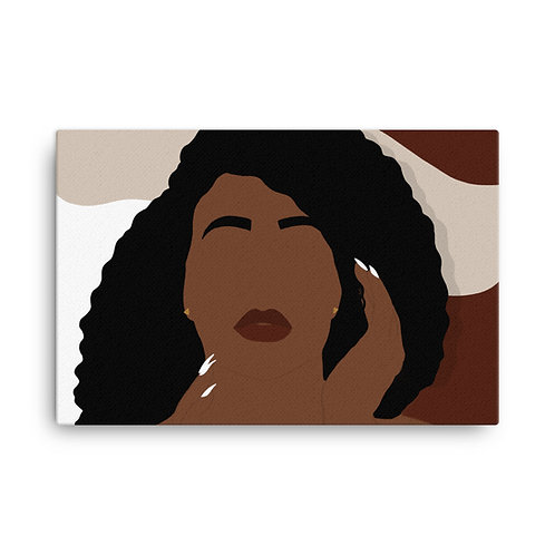 Creative Face Canvas
