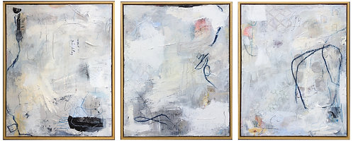 Oceans Away triptych