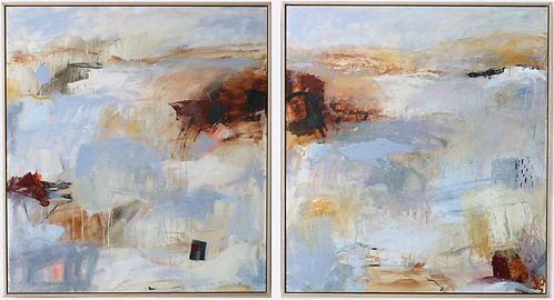 Early Morning Showers, Diptych