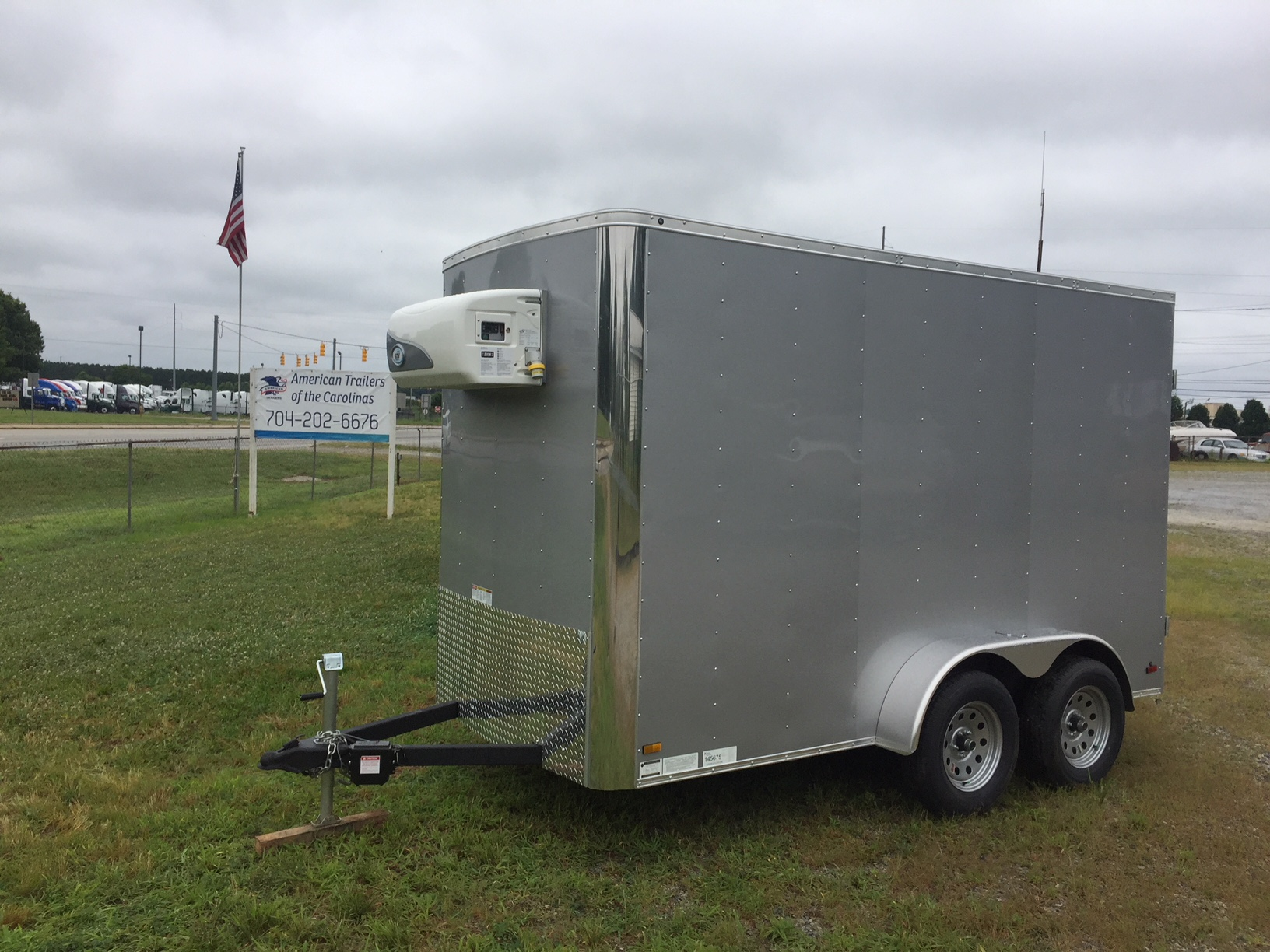 Cooler trailer