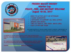 Registration Open: Frozen Biscuit Warrior Cup