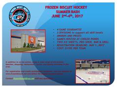Registration Open: Frozen Biscuit Annual Adult Summer Bash