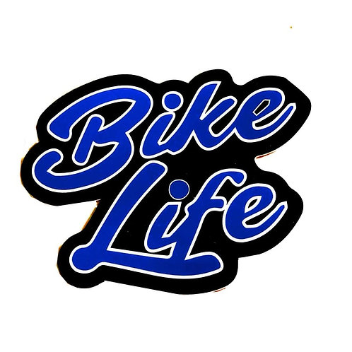 Stickers Bikelife 5 Bleu