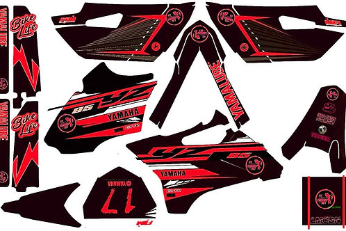Copie de Kit deco complet 85yz LMCDN Rouge