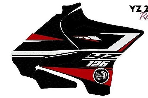 125/250 YZ rouge et noir 2020