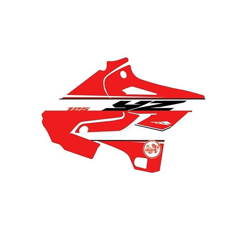 125-250 YZ 2021 rouge