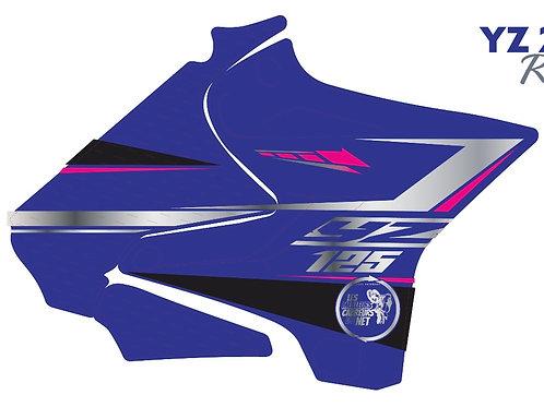 125/250 YZ 2020 chrome