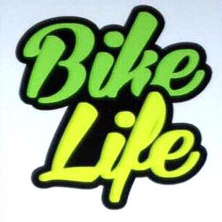 Stickers Bikelife Vert/Jaune