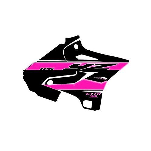 125-250 YZ 2021 noir rose
