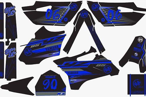 Kit deco complet 85yz LMCDN bleu