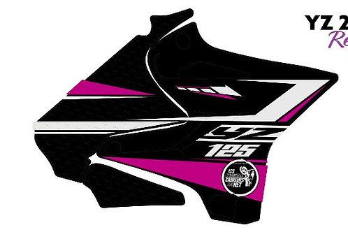 125/250 YZ noir et rose 2020