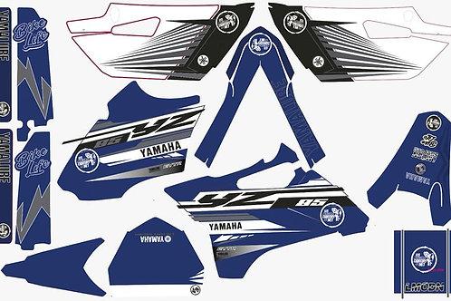 Kit deco 85yz LMCDN complet bleu