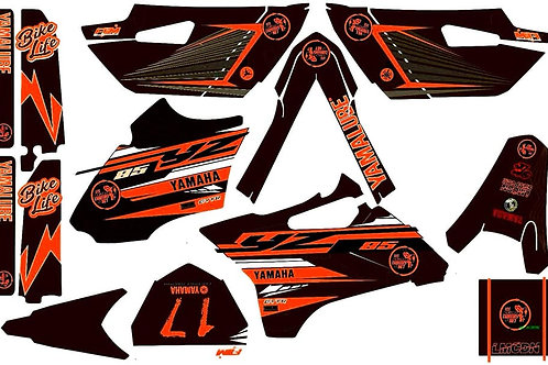 Kit deco complet 85yz LMCDN orange