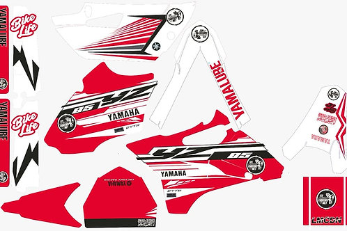 Kit deco complet 85yz LMCDN Rouge