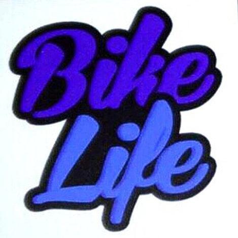 Stickers Bikelife Bleu 2
