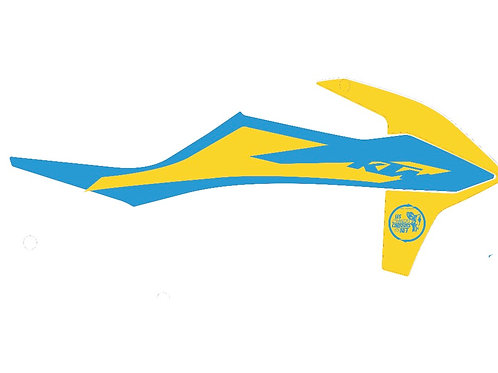 SX/SX 2020 jaune et bleu
