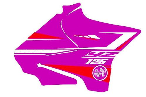 125/250 YZ rouge et rose 2020