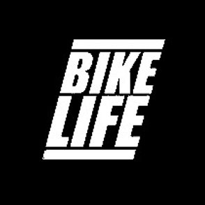 Stickers Bikelife 3 blanc