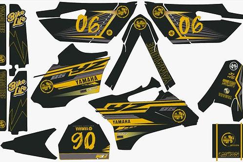 Kit deco complet 85yz LMCDN jaune
